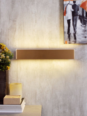 Trafford LED Gold Bathroom Light | Buy LED Wall Lights Online India