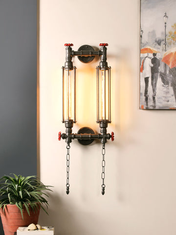 Myrtle Double Vintage Wall Lamp| Buy Luxury Wall Lights Online India