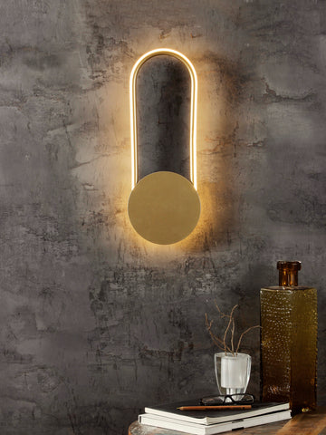 Collin Gold wall Light - Jainsons Emporio