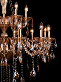 Jessica Gold Crystal Chandelier| Buy Crystal Chandeliers Online India