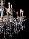 Martha Clear Crystal Chandelier| Buy Crystal Chandeliers Online India
