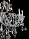 Cynthia 20+10 Lamp | Buy Crystal Chandelier Online in India | Jainsons Emporio Lights