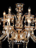 Hilary 10+5-Lamp | Buy Crystal Chandelier Online in India | Jainsons Emporio Lights