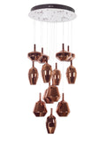 Hazel Multilight Chandelier | Buy  LED Chandeliers Online India