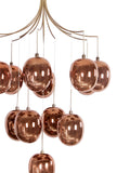 Manuel LED Copper Chandelier | Buy LED Chandeliers Online India