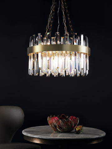 Gavin | Buy Crystal Chandeliers Online in India | Jainsons Emporio Lights
