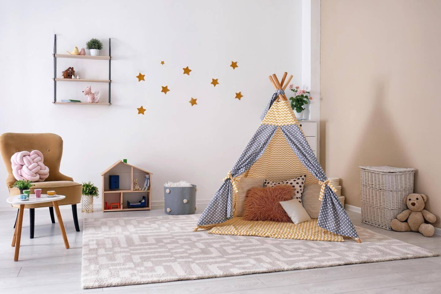 5 Modern Nursery Decorating Musts-b.bear