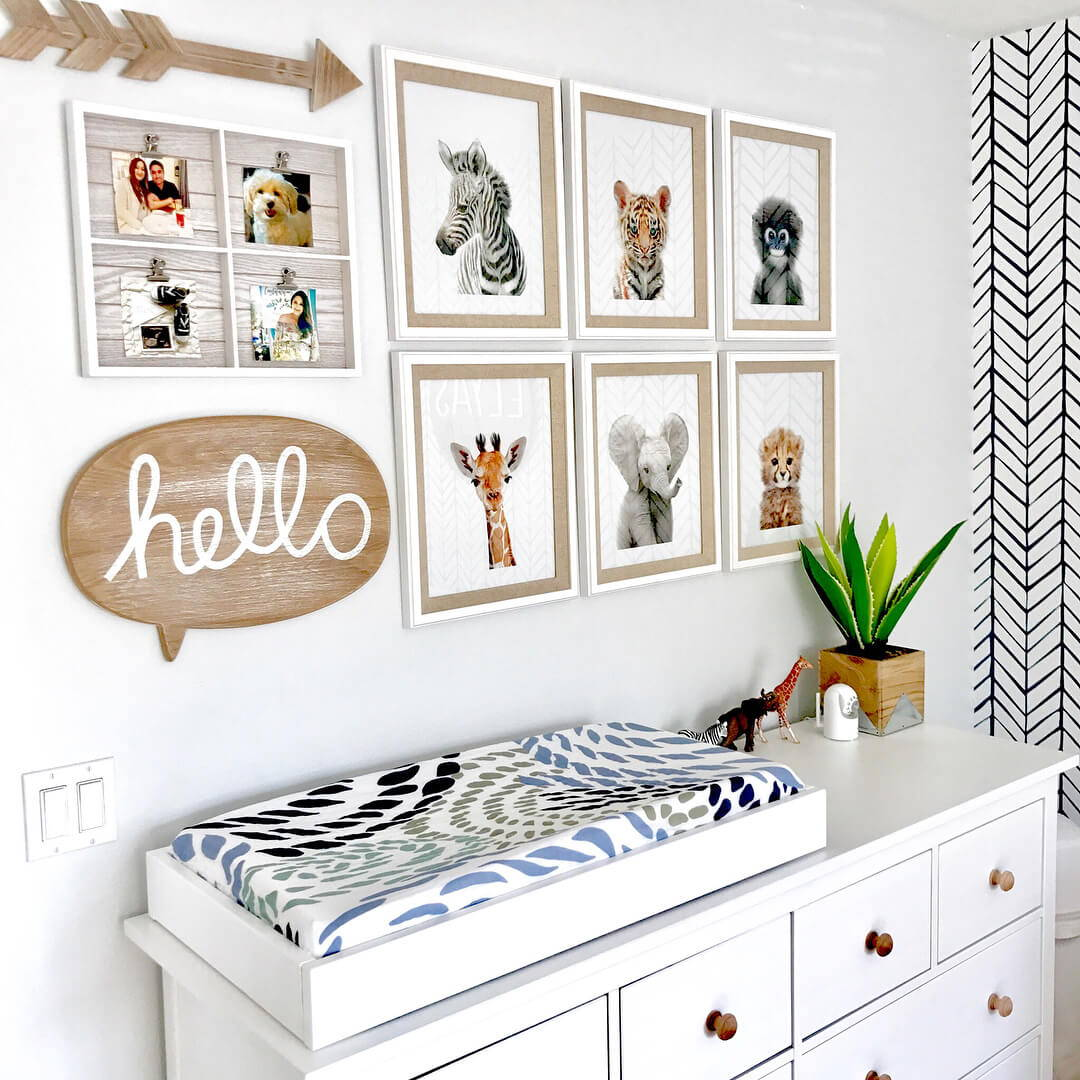 The Gender Neutral Safari Nursery