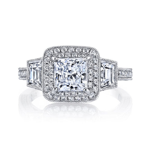 Ladies Antique Diamond Engagement Ring