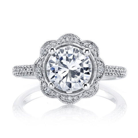 Ladies Diamond Engagement Ring
