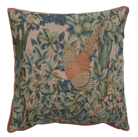 A Pheasant In A Forest Large French Cushion Cover