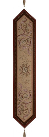 Orleans Floral French Table Runner - Tapestry Zest
