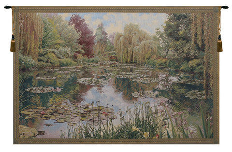 Monet Horizontal Small European Wall Tapestry - Tapestry Zest