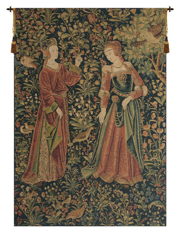 Promenade Left Panel European Wall Tapestry - Tapestry Zest