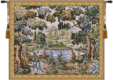 Paysage Flamand Village European Wall Tapestry - Tapestry Zest