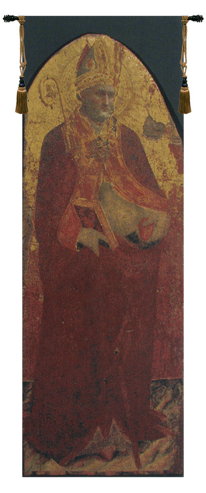 Saint Nicolas European Wall Tapestry - Tapestry Zest