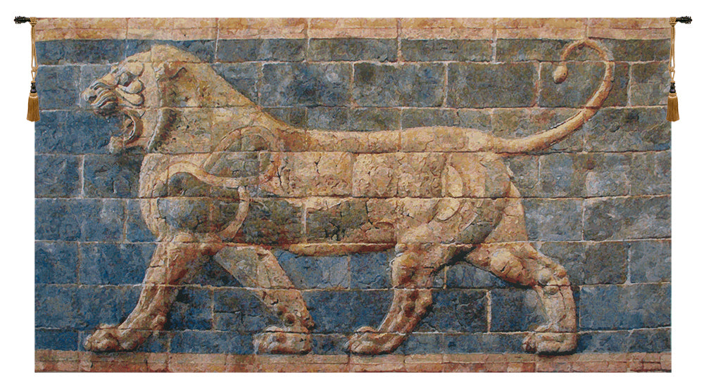 Lion II Darius Belgian Tapestry Wall Art