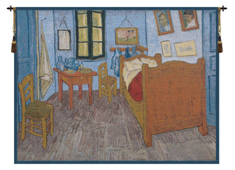 Van Gogh The Bedroom European Wall Tapestry - Tapestry Zest
