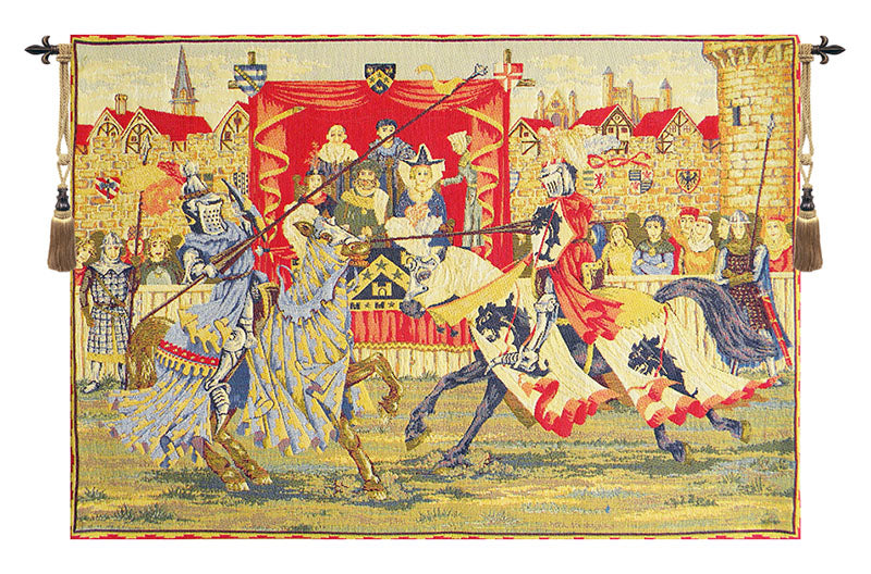 Medieval Lists European Wall Tapestry - Tapestry Zest