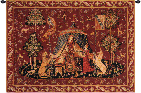 Lady and the Unicorn A Mon Seul Desir French Wall Tapestry - Tapestry Zest