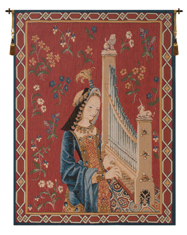 Lady and the Unicorn Dame A La Licorne French Wall Tapestry - Tapestry Zest