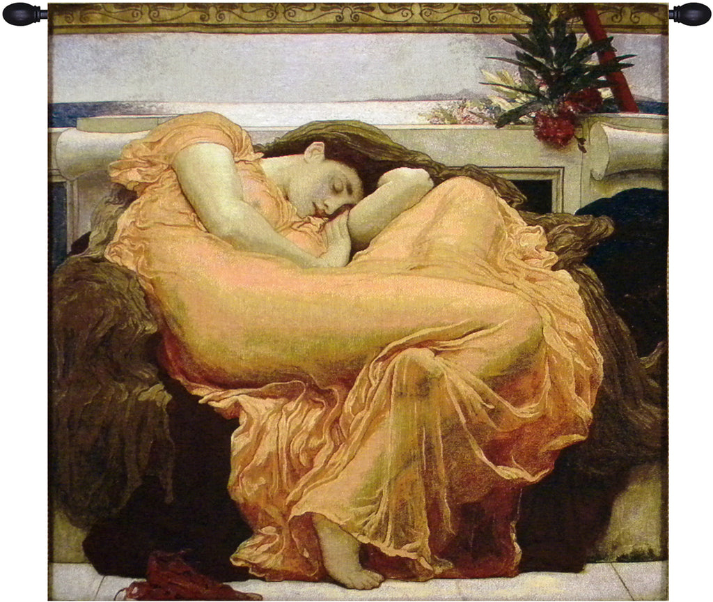 Flaming June Tapestry Wall Art - Tapestry Zest