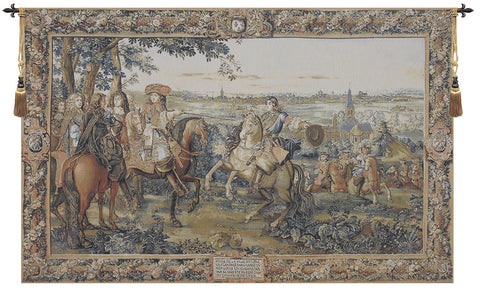 Louis XIV European Wall Tapestry - Tapestry Zest