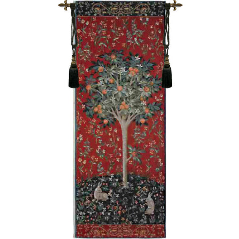 Oranger Medieval Tree French Wall Tapestry - Tapestry Zest