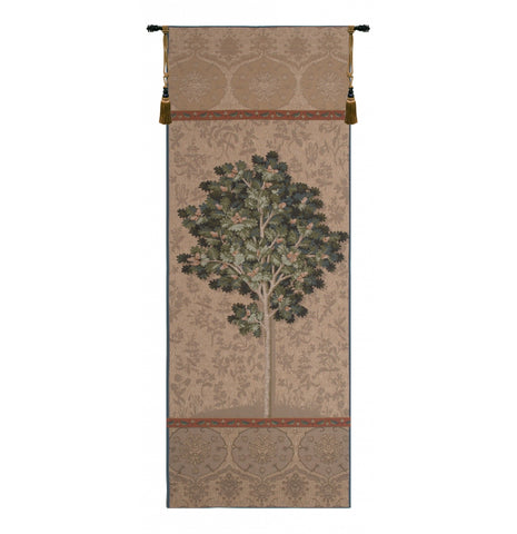 "Chene Naturel French Wall Tapestry, 73""x29"""