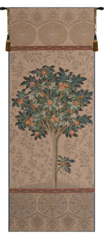 "Oranger Naturel French Wall Tapestry, 73""x29"""