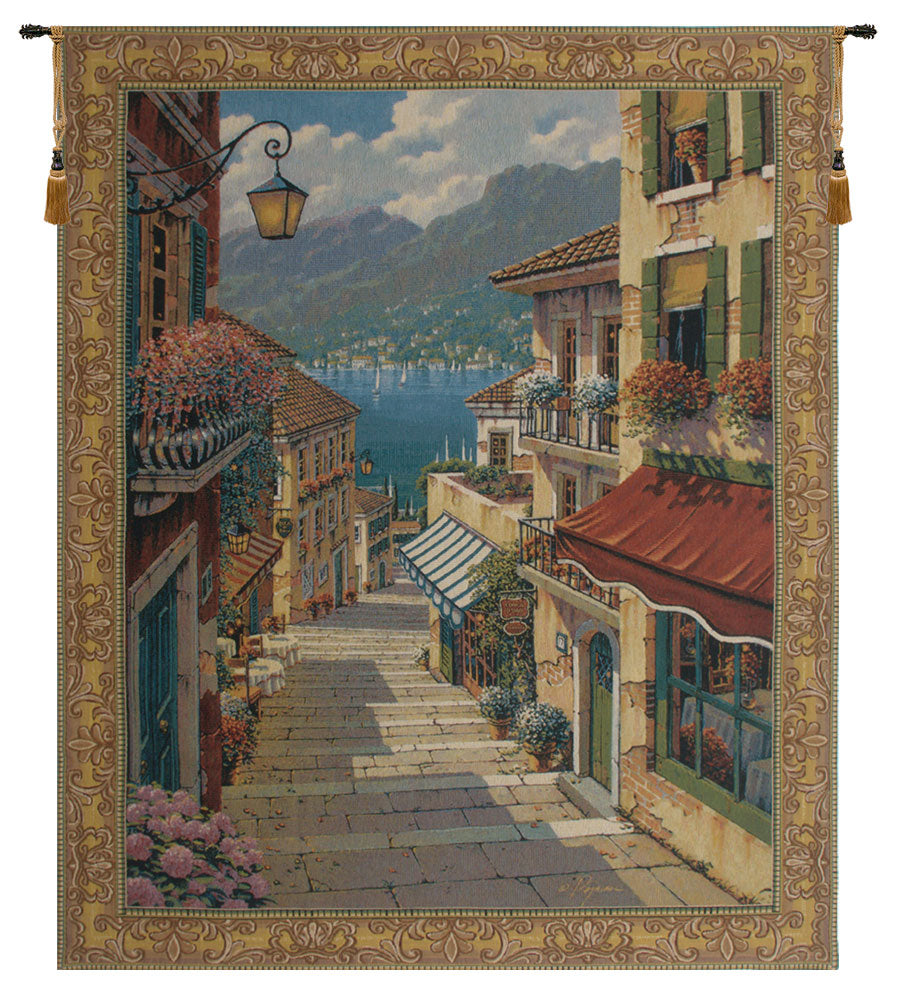 Bellagio Village European Wall Tapestry - Tapestry Zest