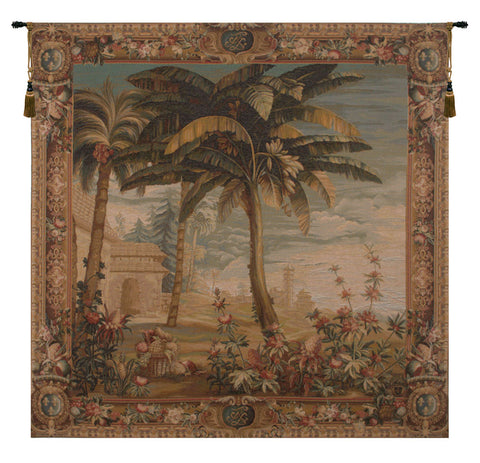 Paysage Exotique Landscape French Tapestry - Tapestry Zest