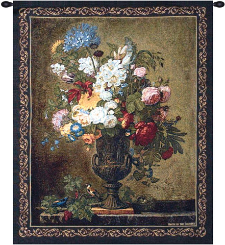 Floral Still Life Decorative Wall Tapestry - Tapestry Zest