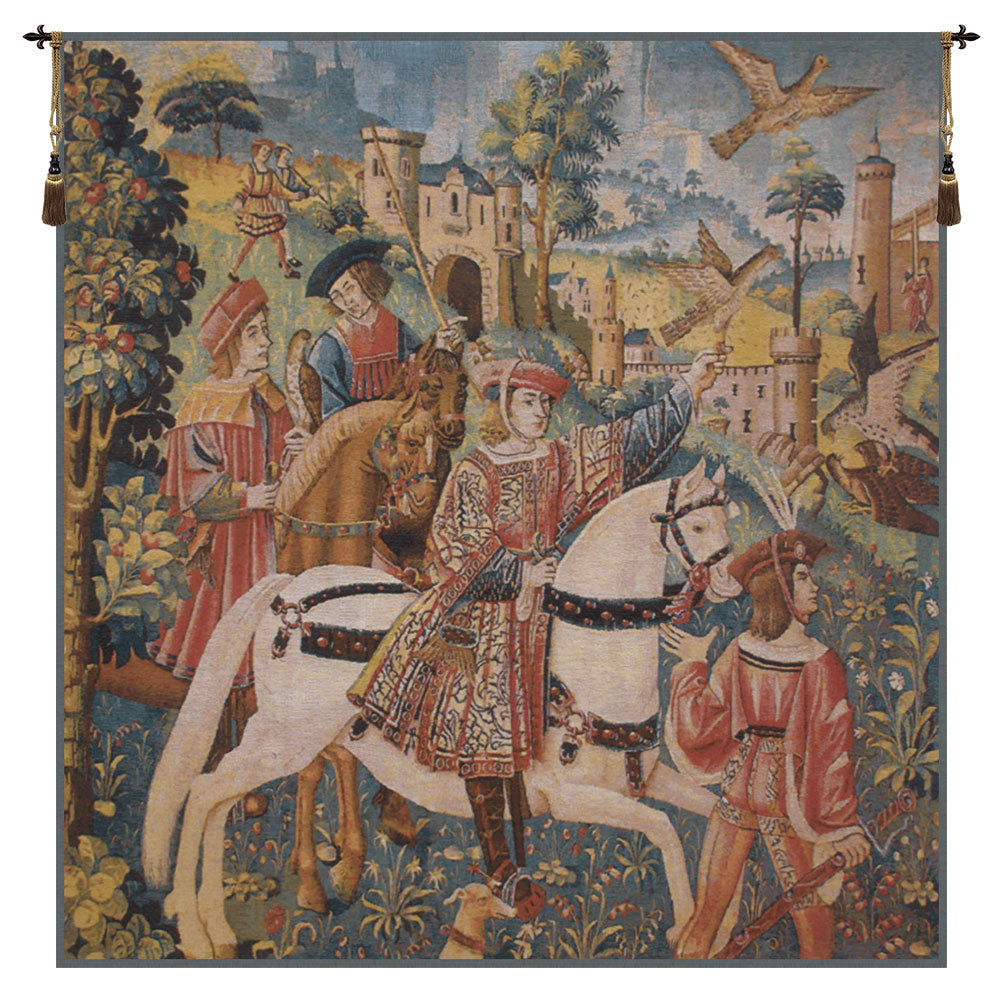 Chasse  Flanders Belgian Tapestry Wall Art