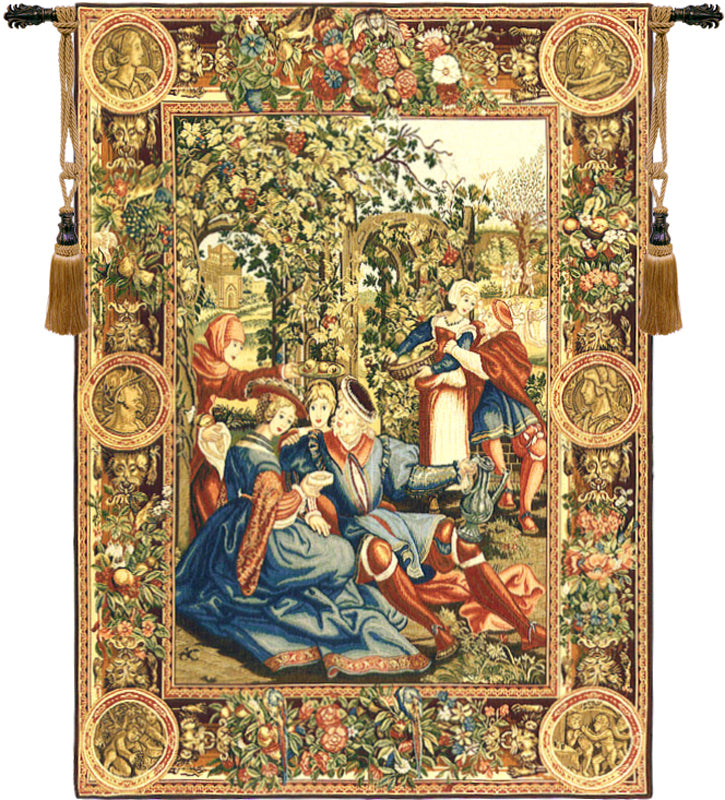 The Month of October European Wall Tapestry - Tapestry Zest