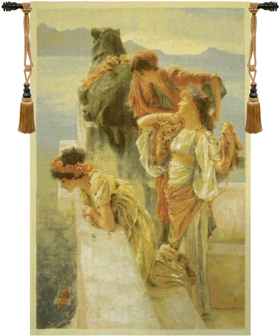 Three Virgins Belgian Wall Tapestry - Tapestry Zest