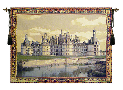 Chambord Castle European Wall Tapestry - Tapestry Zest