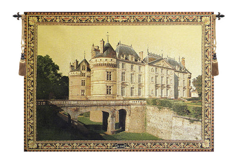 Le Lude Castle European Wall Tapestry - Tapestry Zest
