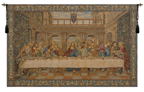 The Last Supper IV Italian Wall Tapestry - Tapestry Zest