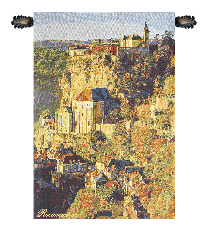 Rocamadour European Wall Tapestry - Tapestry Zest