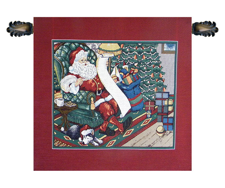 Santa on a Chair - Tapestry Zest