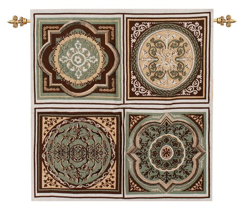 Florentine Medallion Decorative Wall Tapestry - Tapestry Zest