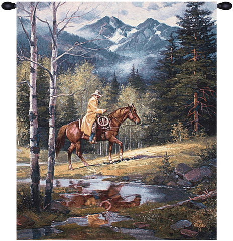 Springtime in the Rockies Decorative Wall Tapestry - Tapestry Zest