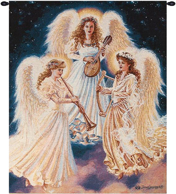 Choir of Angels Decorative Wall Tapestry - Tapestry Zest