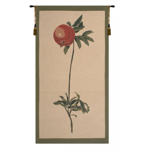 "Redoute Pomegranate European Wall Tapestry, 50""x28"""