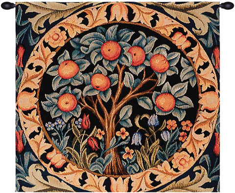The Orange Tree French Tapestry - Tapestry Zest