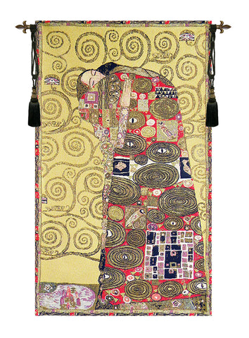 Accomplissement by Klimt European Wall Tapestry - Tapestry Zest