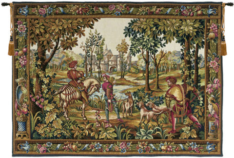 Retour de Chase French Wall Tapestry - Tapestry Zest