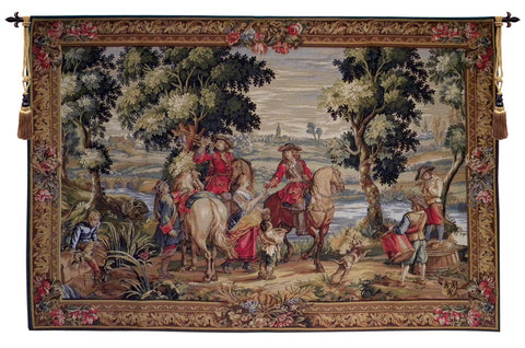Les Sonneurs du Roi Les Tambours French Wall Tapestry - Tapestry Zest