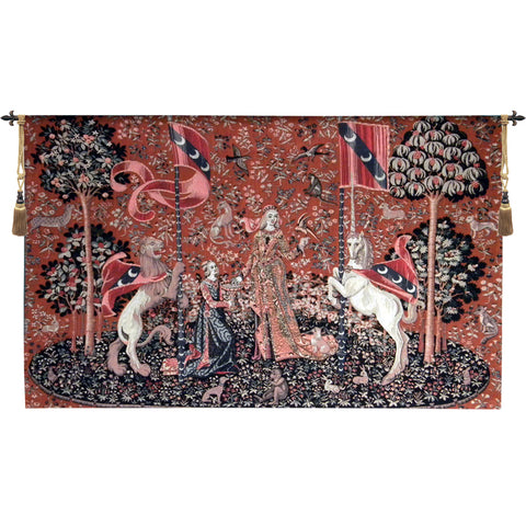 Lady and the Unicorn Taste European Wall Tapestry - Tapestry Zest